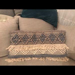 NWOT Boho accent pillowcase